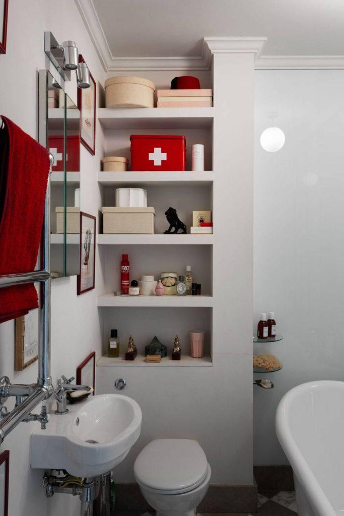 simphome bathroom shelf