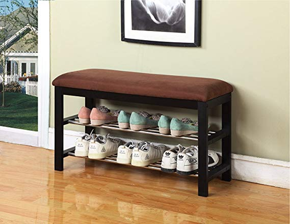 simphome brown shoe bench