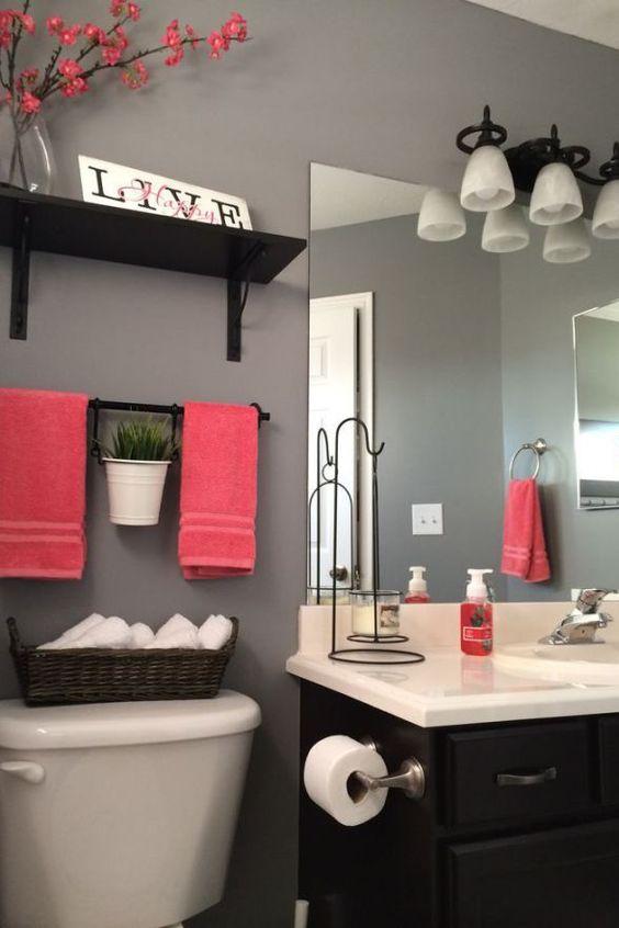 simphome chic bathroom shelf