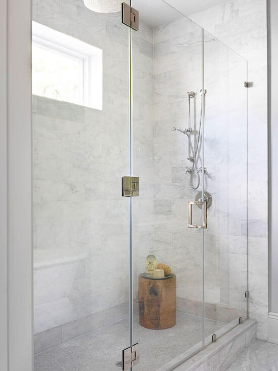 simphome see through shower