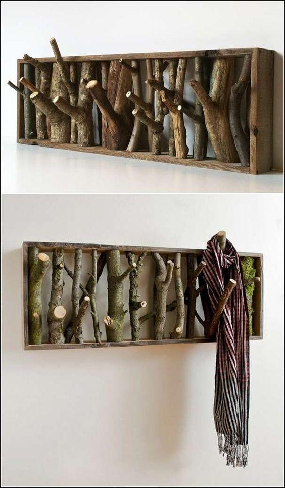 wooden twigs