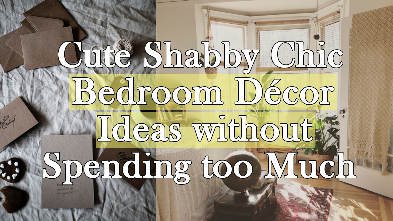 Cute Shabby Chic Bedroom Décor Ideas simphome.com