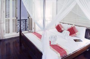Well Ventilated Bedroom