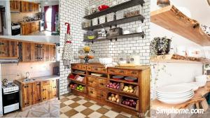 Rustic Kitchen Décor Ideas via simphome.com
