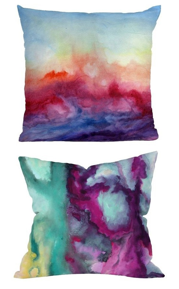 simphome ice dye pillows