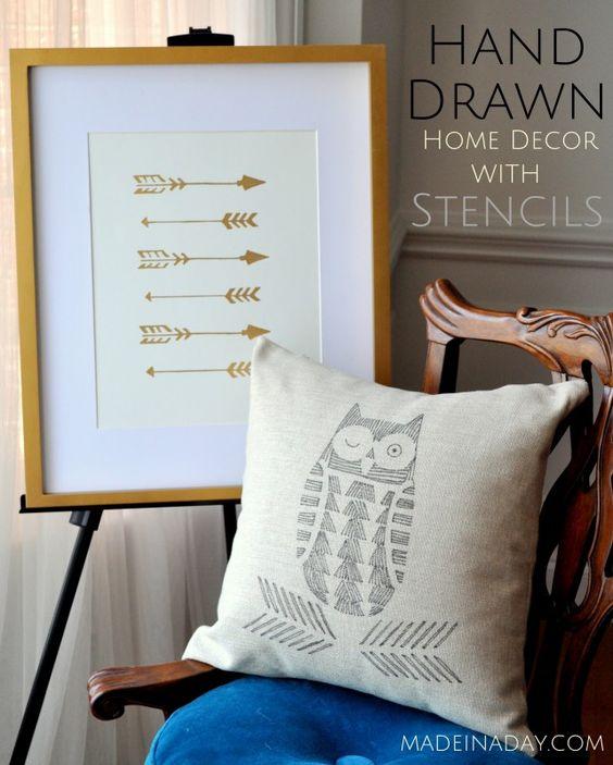 simphome owl pillow cover