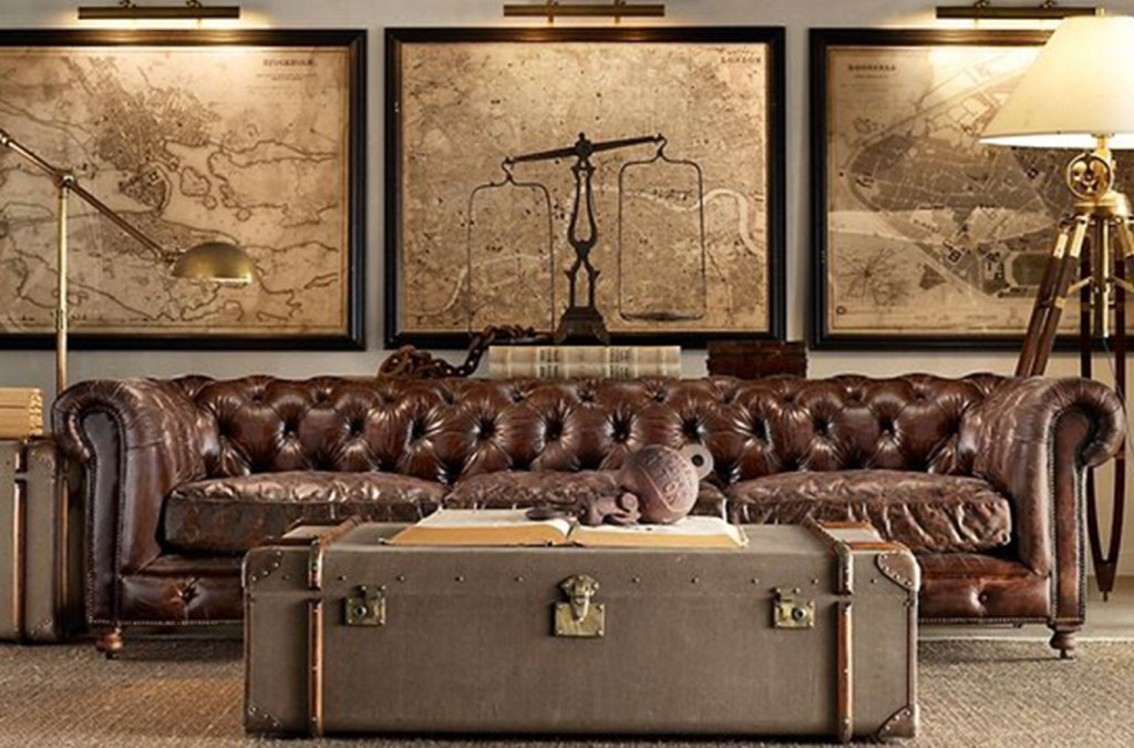 steampunk home décor tips to add industrial feeling in
