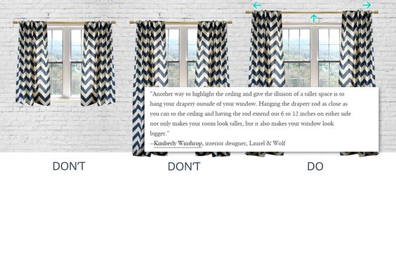 11 Match your walls with your curtains via simphome