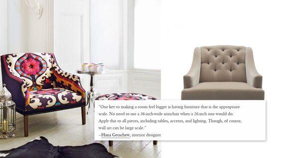 18 Properly sized furniture via simphome
