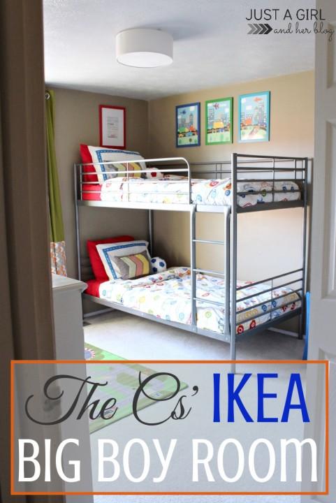 21. IKEA BIG BOY ROOM