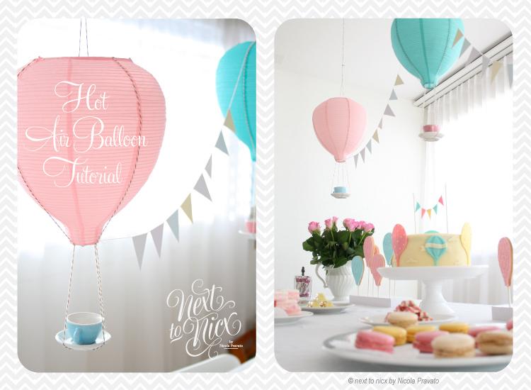 26. Hot Air Balloon Decoration