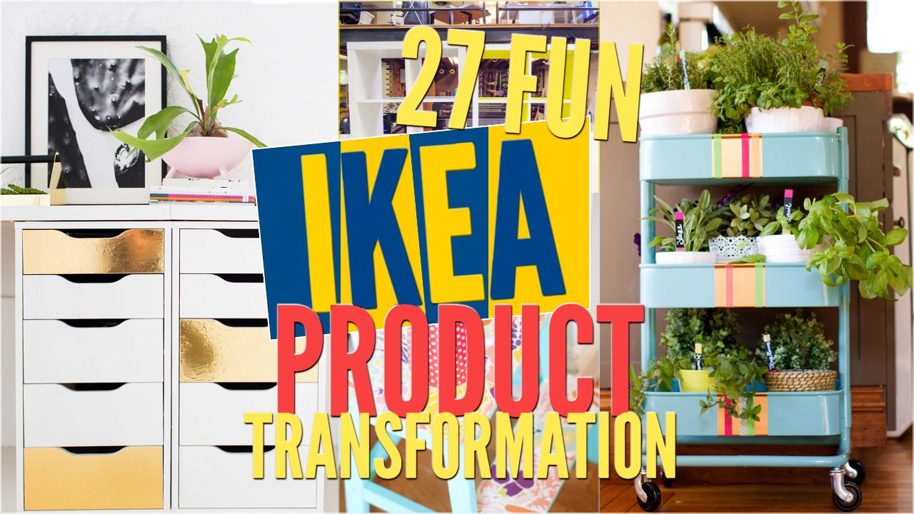 27 Fun ikea product transformation