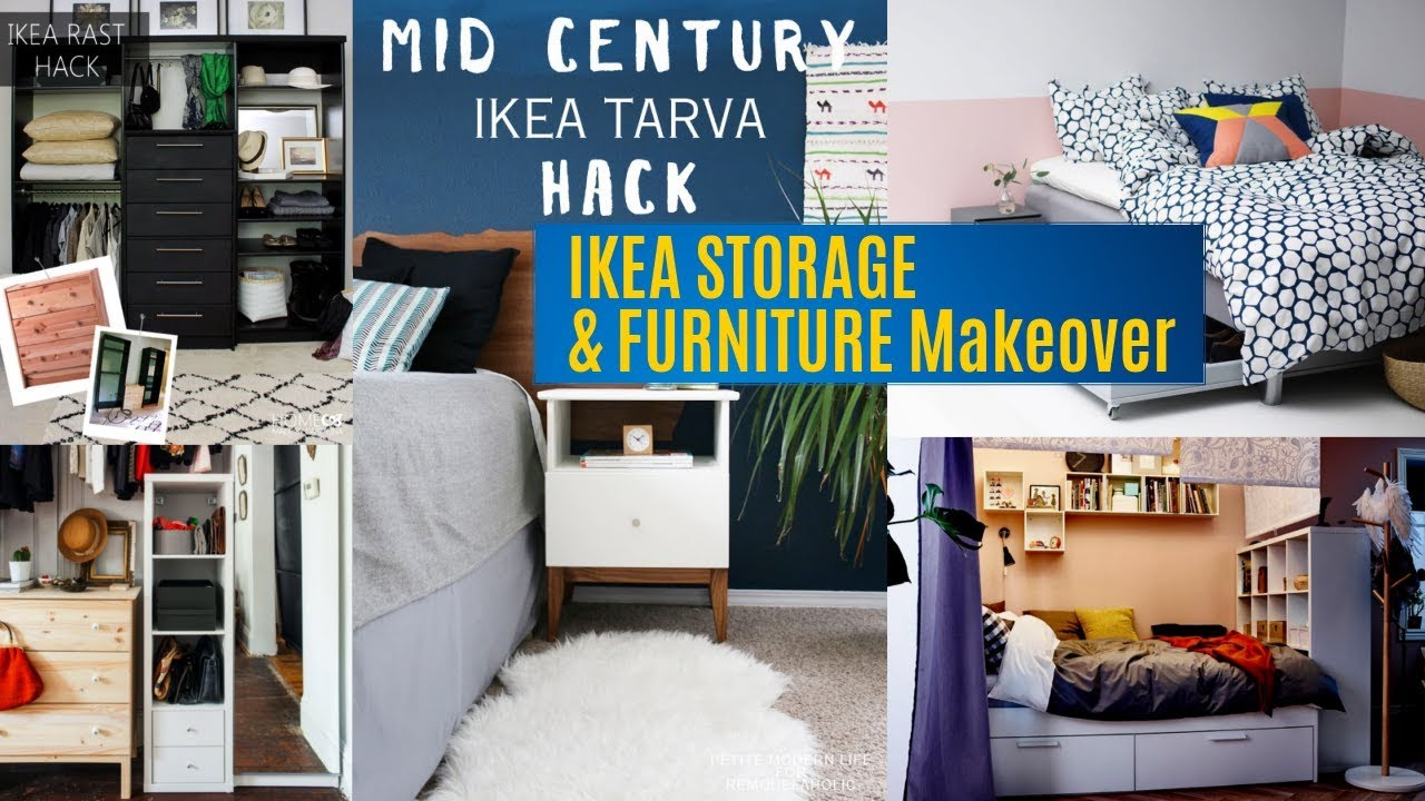 31 IKEA Storage and furniture makeover ideas