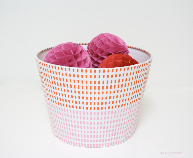 32. Insert a Heat trivet into the bottom of a lampshade