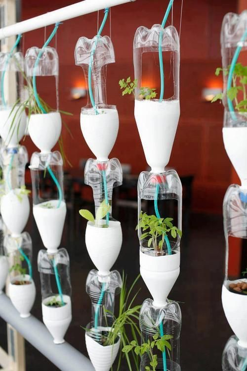 simphome recycled hanging garden