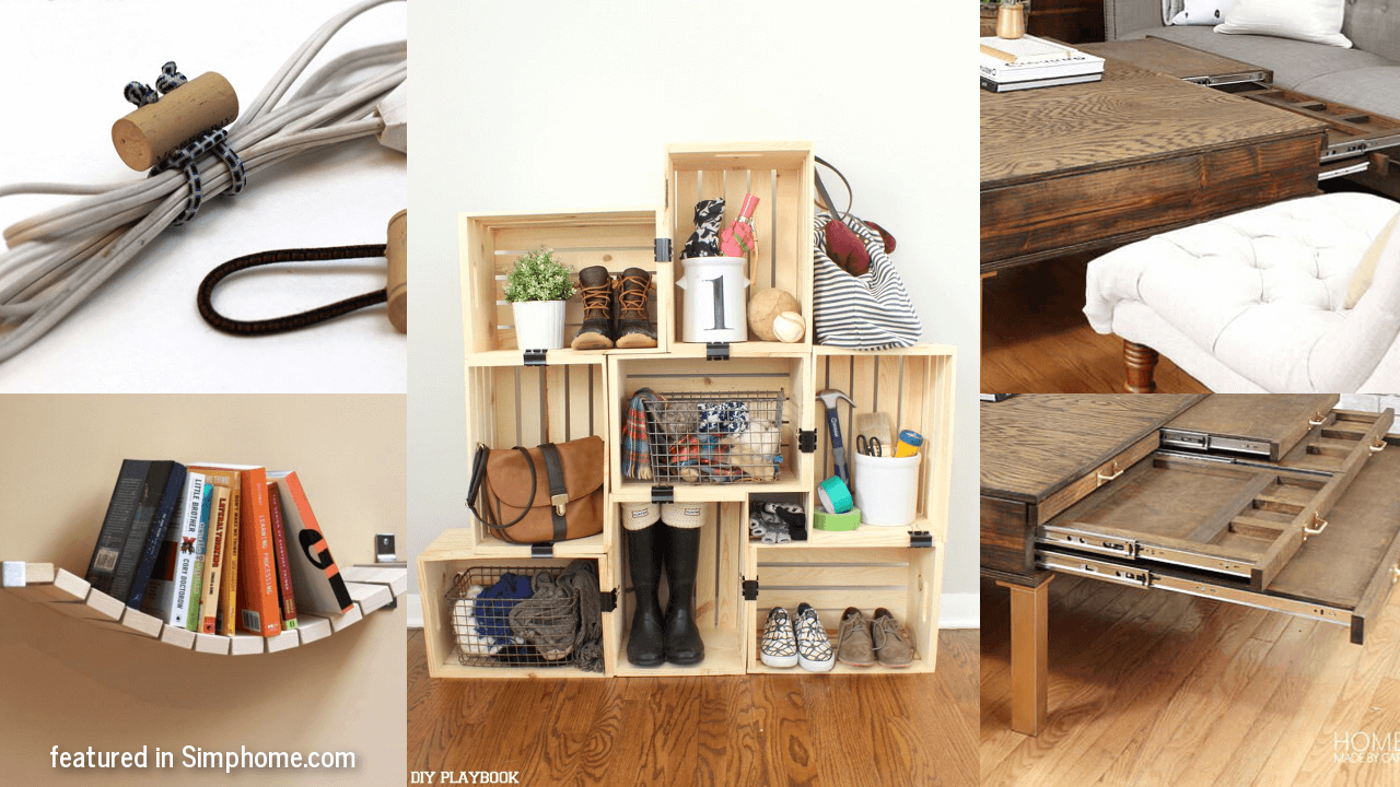 Budget DIY Storage and Organization Ideas That Look Expensive simphome.com