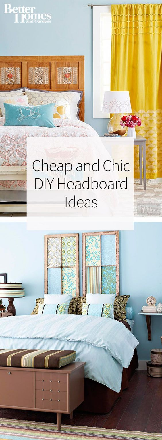 5 Money Saving DIY Headboard Ideas Worth Trying for Every Home ...