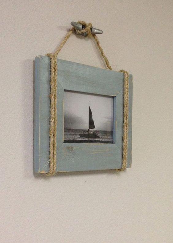 DIY Nautical Wall Frame Simphome com