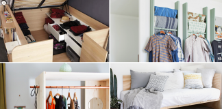 DIY Project ideas for Small and Limited Space Bedroom via simphome featured