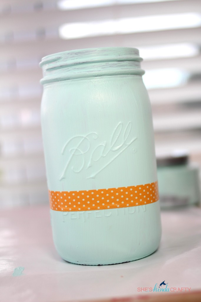 How to make Mason Jar Containers decor (3)