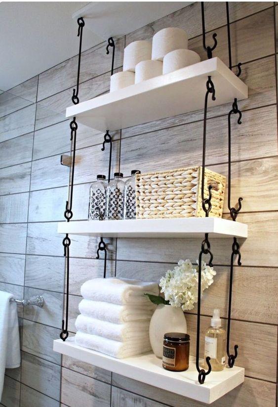 Stacked Open Shelves Simphome com