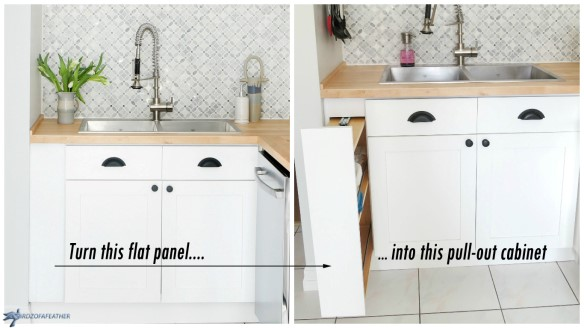 filler strip to pull out cabinet simphome com