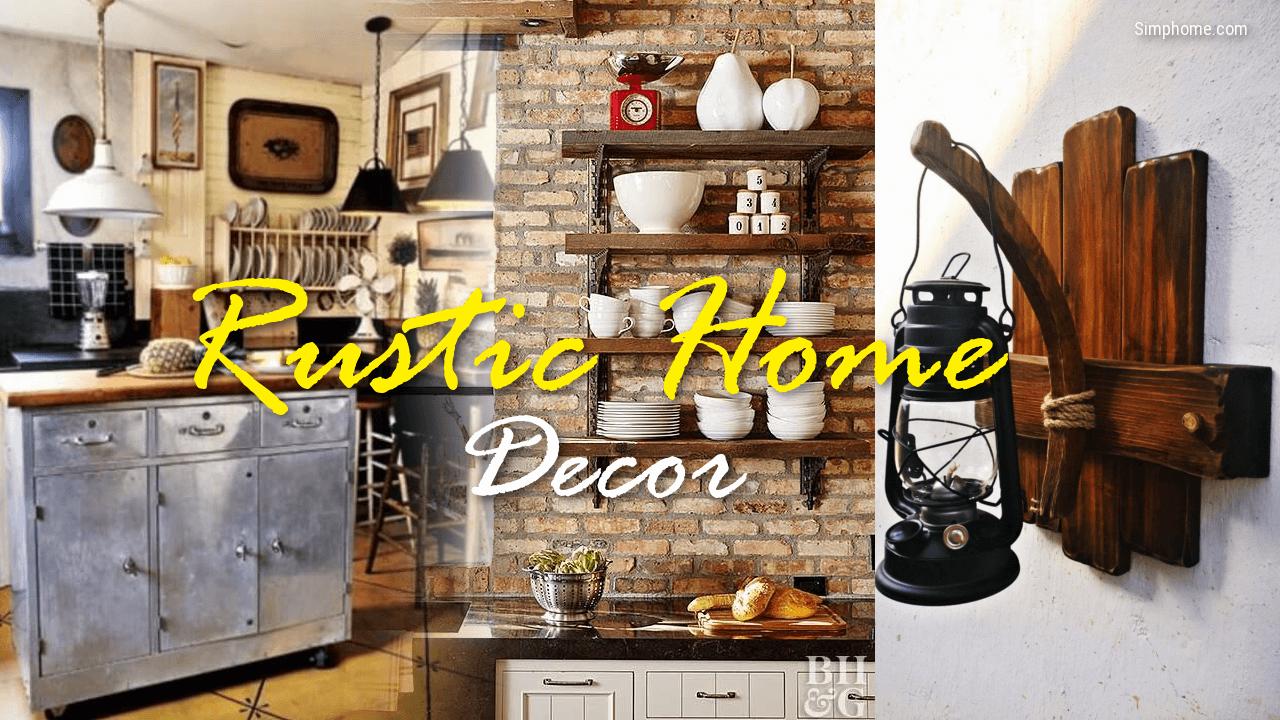 rustic home decor simphome com