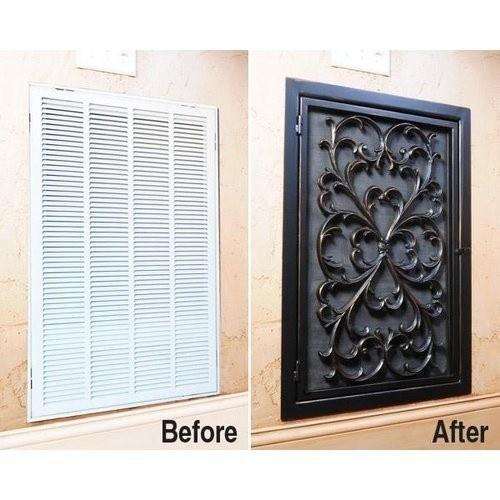 16 Decorate your air ventilation