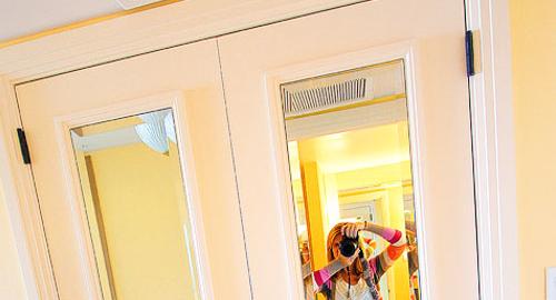 2. Closets mirror