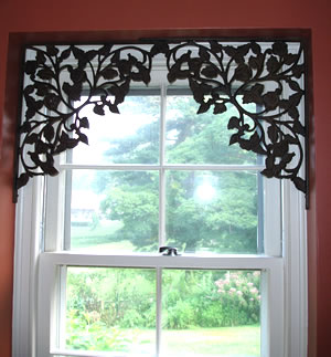 7.Simple decoration for windows