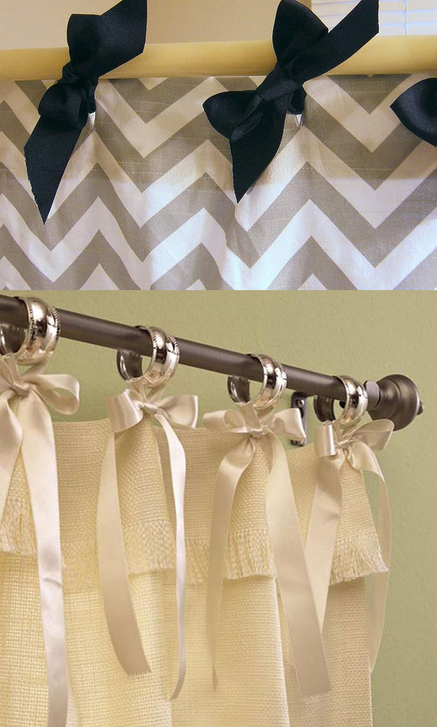 8.Decorate your shower curtain