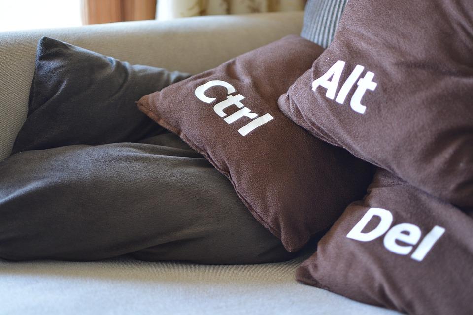 Cushions Restart Funny Shut Down Ctrl alt Simphome com