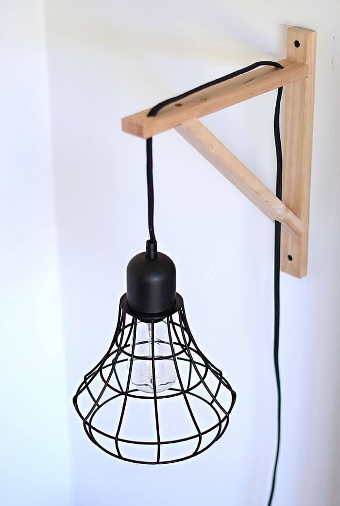 DIY Cage Light Sconces 14 Simphome com