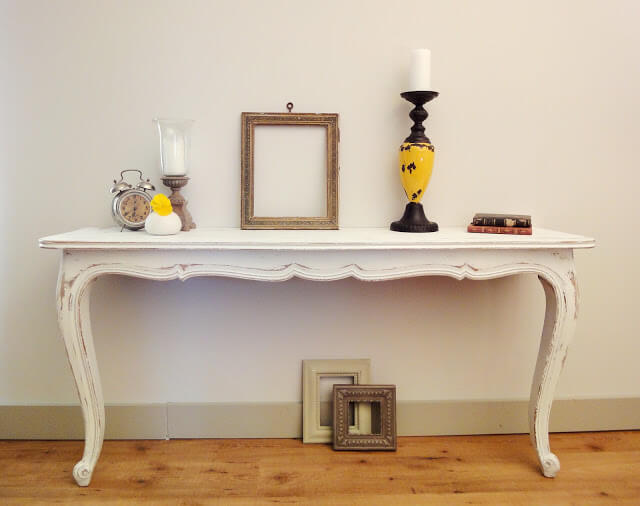 How to Make Two Console Tables 27 Simphome com