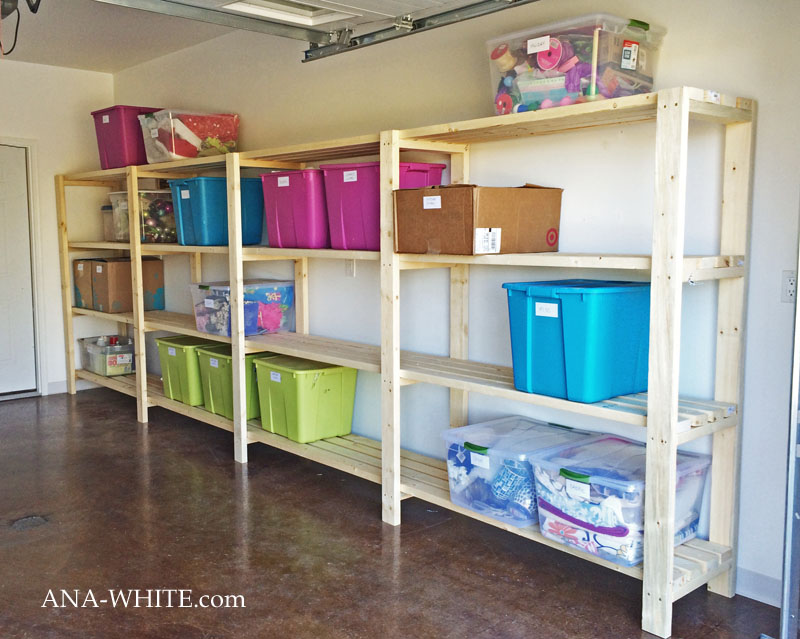 Long and Wide Garage Shelving 4 Simphome com