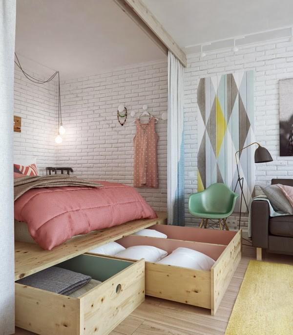 Platform bed Simphome com