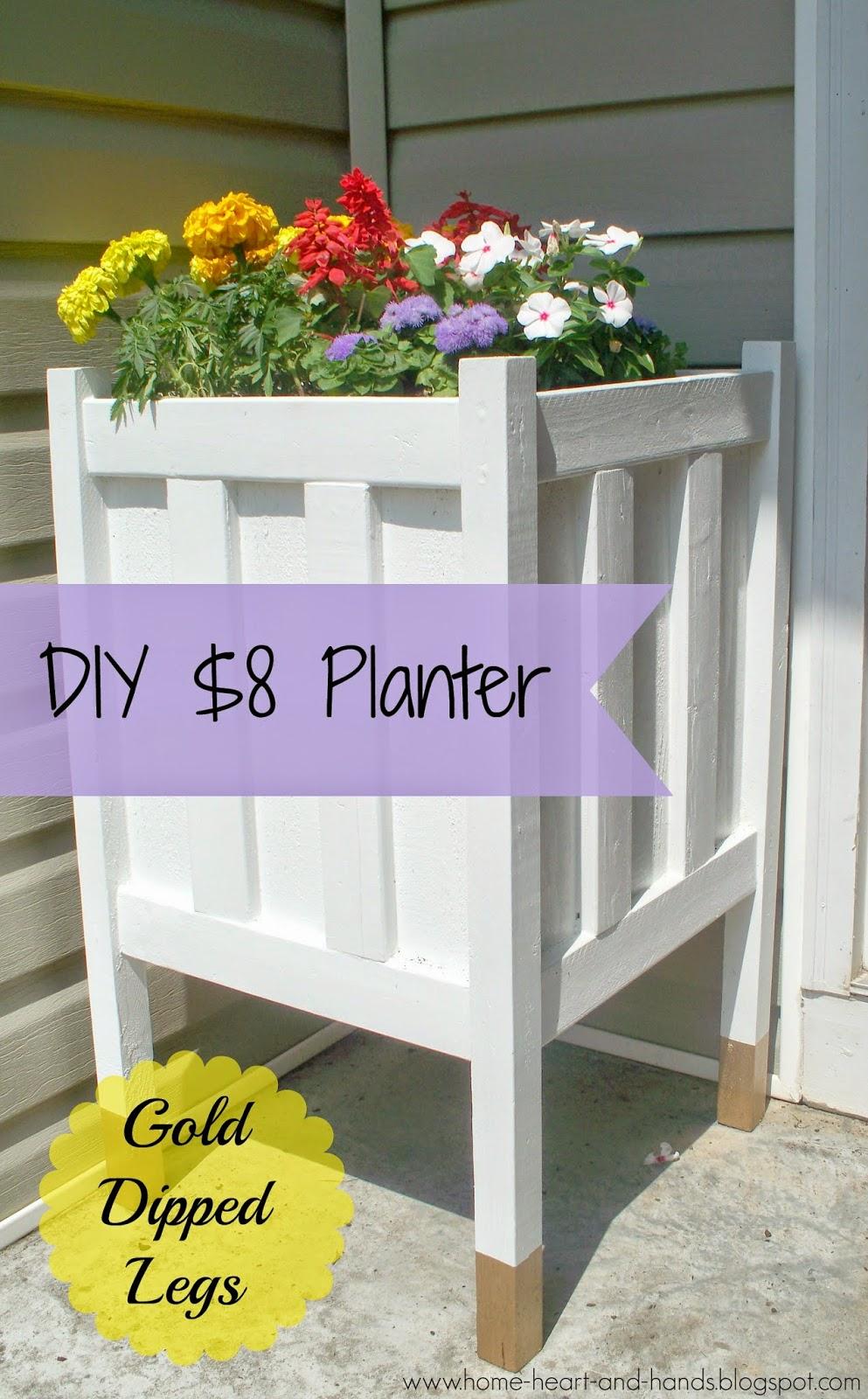 11 Decorate the Planters Personally Simphome com
