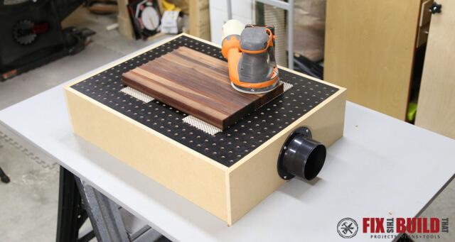 13 How to Build a DIY Downdraft Table Simphome com