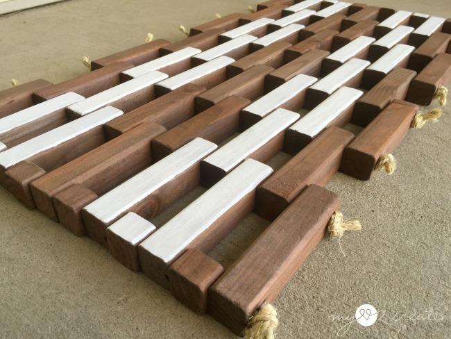 18 Reversible Wooden Door Mat Simphome com