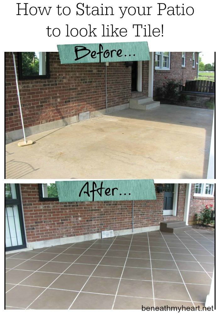 18 Stylize the Porch with Tiles or Cement Staining 2 Simphome com
