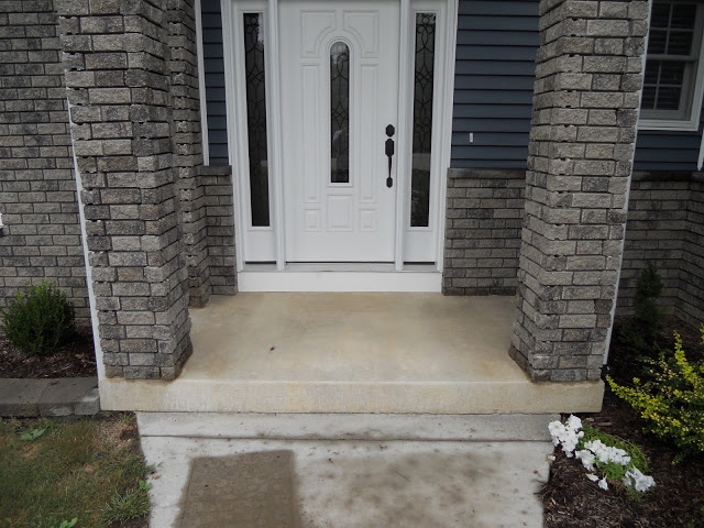 18 Stylize the Porch with Tiles or Cement Staining Simphome com