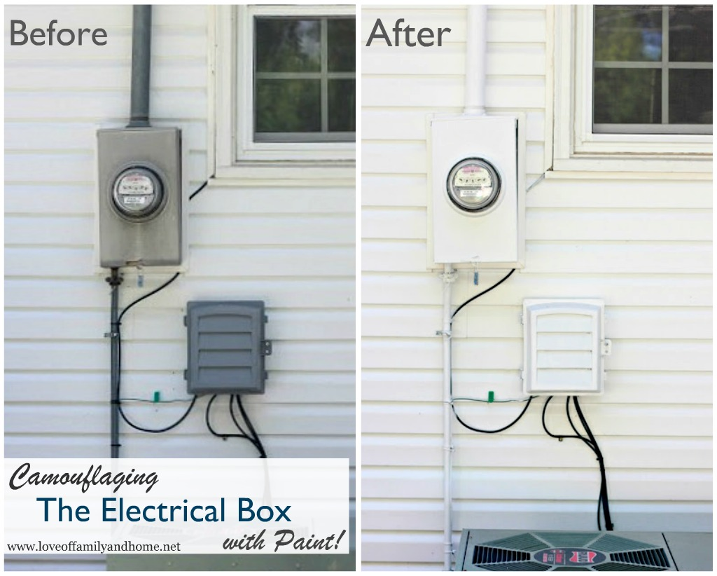 20 Blend in Electrical Boxes With the Rest of the Home Simphome com