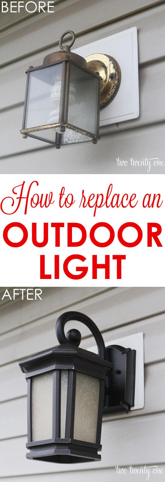21 Replace or Upgrade Outdoor Lights Simphome com