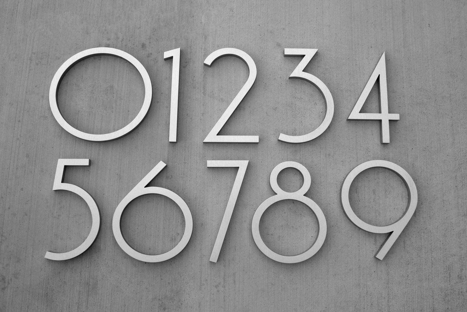 5 Stylize the House Number Simphome com