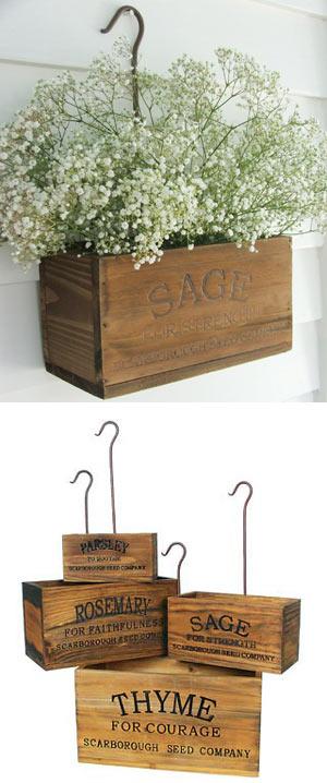 6 DIY Nesting Herb Boxes Simphome com