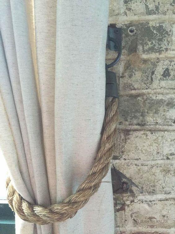 Curtain Tieback Rope Simphome com