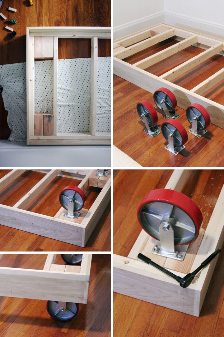05 DIY Bed on Wheels Simphome com