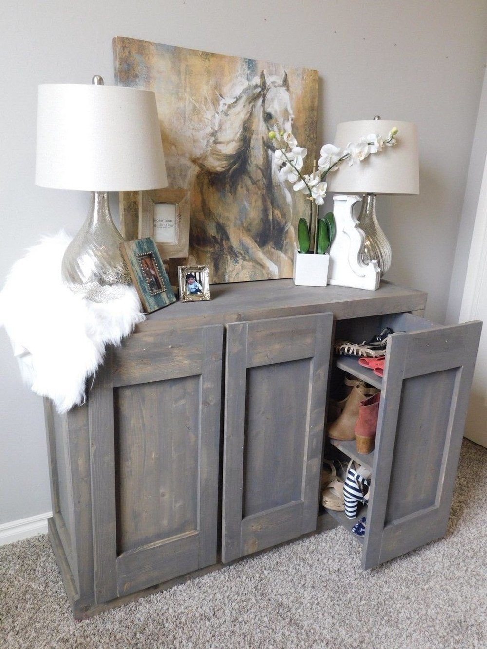 10 Hidden Shoe cabinet Simphome com