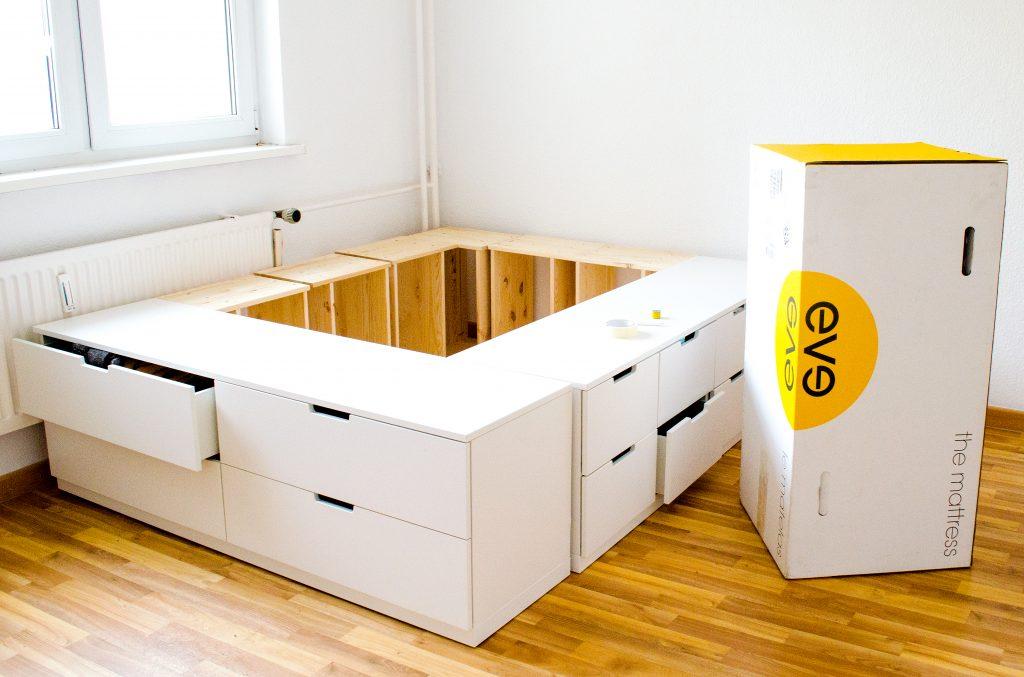 19 DIY Ikea drawer to bed hack Simphome com