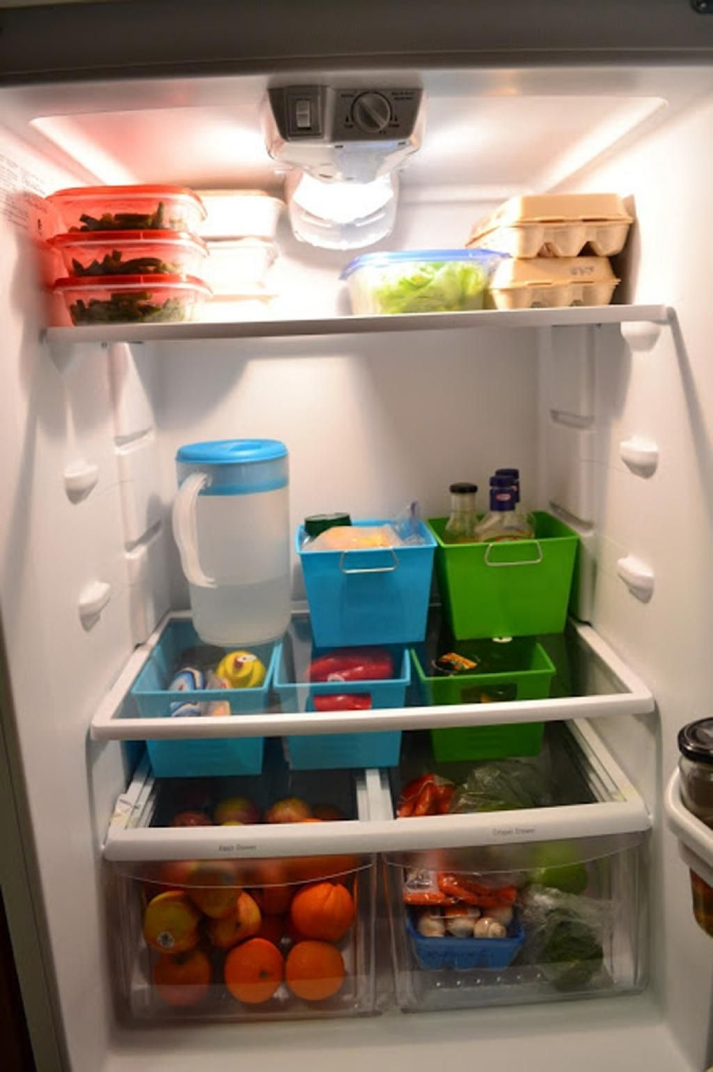 2 Reorganize Your Fridge Simphome com